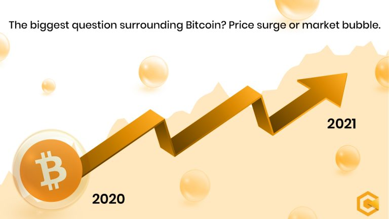 The biggest question surrounding Bitcoin? Price surge or market bubble.